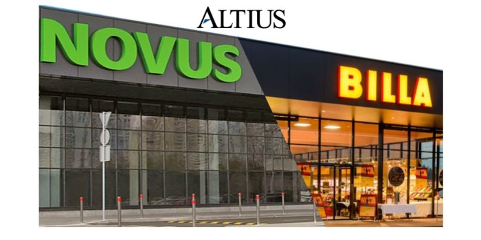 ALTIUS CAPITAL КОНСУЛЬТИРУЕТ NOVUS ПО ПРИОБРЕТЕНИЮ BILLA В УКРАИНЕ
